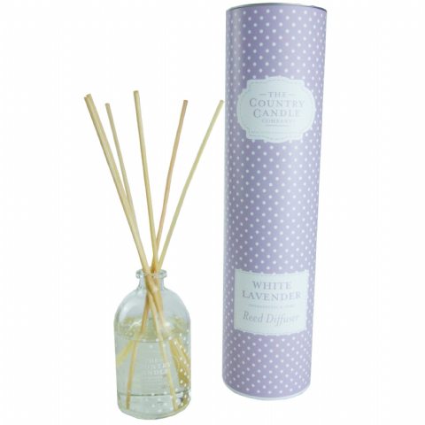 White Lavender Reed Diffuser - Therapeutic and Pure